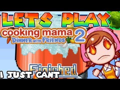 ALL I WANTED WAS SOME FOOD!-[Cooking Mama 2]#01