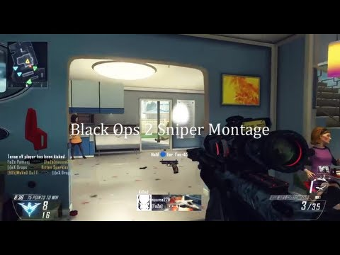 fazeclan - THUMBS UP and FAVORITE for the FIRST Black Ops 2 Montage! FaZe Hoodies, T-Shirts & more: http://fazeclan.spreadshirt.com Open the description [click 'show mo...