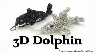 Delfín z gumiček
