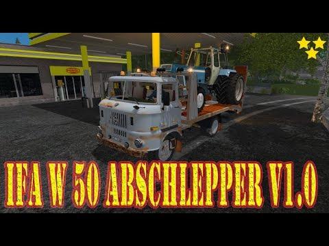 IFA W 50 Abschlepper v1.0