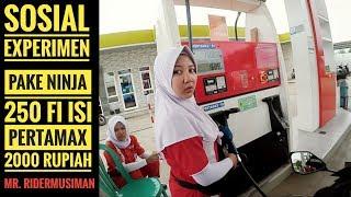 Video Pakai Ninja 250 fi isi pertamax 2ribu rupiah | SOCIAL EXPERIMENT MP3, 3GP, MP4, WEBM, AVI, FLV September 2018