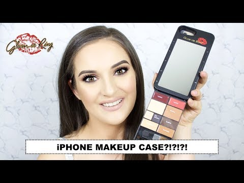 Makeup in a Phone Cover?! Glam Or Ring Mobile Phone Case
