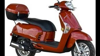 9. KYMCO LIKE 50 2T RED 49cc Scooter