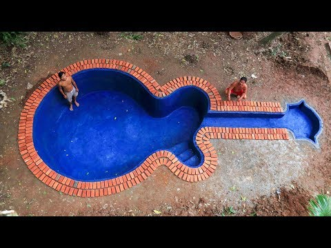 Build swimming pool underground model guitar
