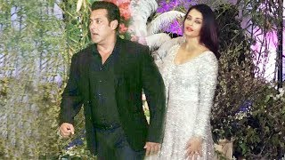 Video Salman Khan And Aishwarya Rai At Sonam Kapoor's Wedding Reception MP3, 3GP, MP4, WEBM, AVI, FLV Mei 2018