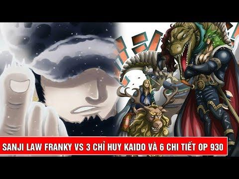 Sanji Law Franky vs Drake Hawkins Page One và dự đoán 6 chi tiết trong One Piece 930 - Thời lượng: 7 phút, 30 giây.