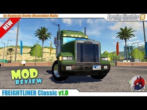 Kentucky Derby-Freightliner Classic v1.0