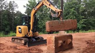 5. Myth Busters: Cat® 305E2 Mini Excavator Lifting Demo
