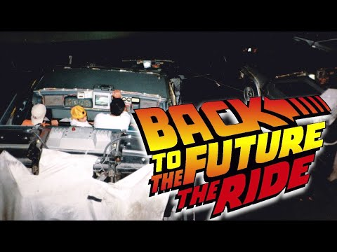 Behind The Scenes Back To The Future The Ride - IMAX Film Projection Universal Studios Hollywood