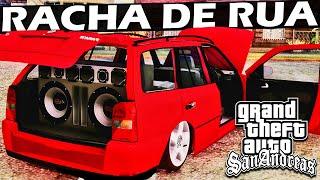 Carros Rebaixados em Racha - GTA San Andreas