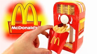 How to Build a LEGO McDonald's French Fries Dispenser