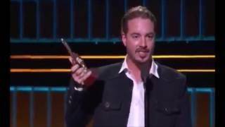El cantante Colombiano pronuncio la famosa Frase del Rapero Boricua en los Premios lo Nuestro.