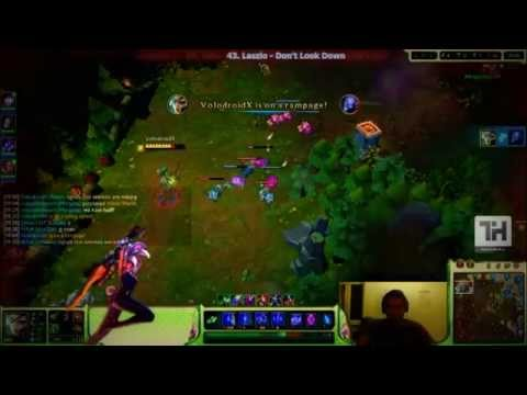 League of Legends - Riven Clip Stream Highlights 1#