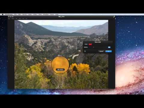 pixelmator 2 tutorial - In this lesson from our Pixelmator 2 training App learn to use Pixelmator's Magic Wand tool for quickly selecting specific colors or color ranges in an image...
