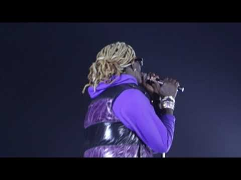 Young Thug (Killed Before) @ Justin Bieber Big Tour Seattle
