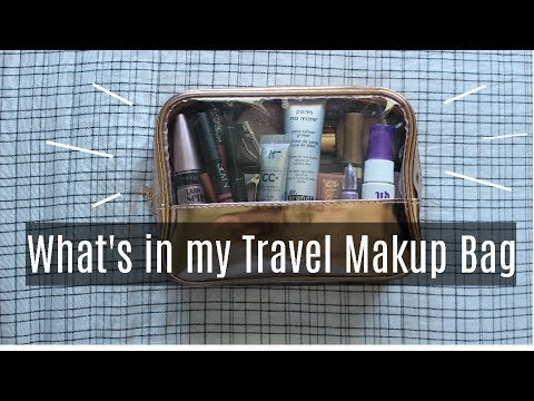 Make up - What's in my Travel Makeup Bag