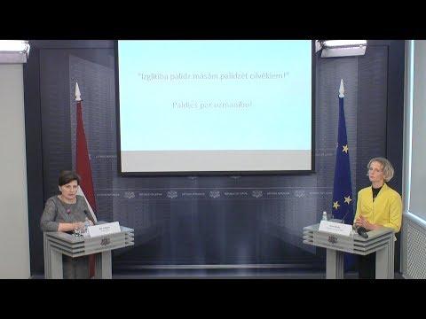 Veselības ministres Ilzes Viņķeles preses brīfings par turpmākajiem soļiem māsu profesijas attīstībai