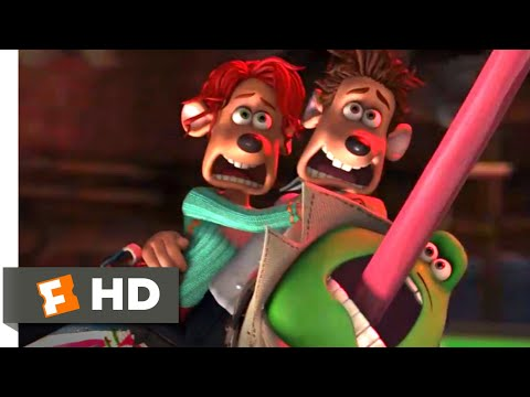 Flushed Away (2006) - Saving The Sewer Scene (10/10) | Movieclips