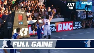 Check out the game between Philippines and France from the FIBA 3x3 World Cup 2017! Subscribe to the FIBA3x3 channel: ...