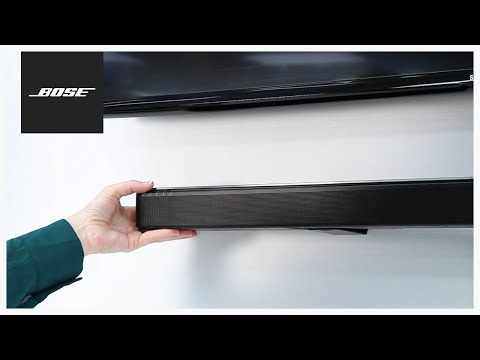 Bose SoundTouch 300 – Mounting to a Wall (видео)