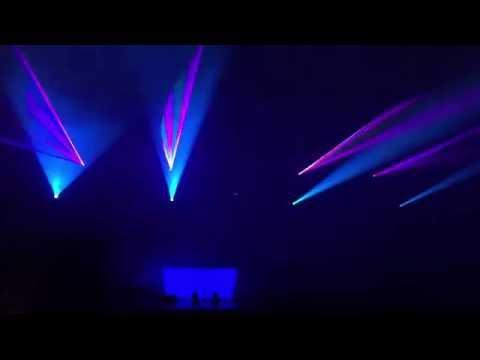 Dj Franky Göttingen Laser Show mit Volkslaser, Laserworld 8xMae V30