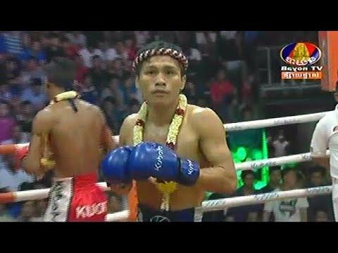 Chan Bunhoeun vs Phanek(thai), Khmer Boxing Bayon 09 Feb 2018, Kun Khmer vs Muay Thai