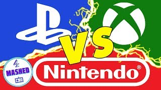 The PlayStation 4, Xbox One and Nintendo Switch are thrown into the ring and must battle to the death. What do Sony, Microsoft & Nintendo need to do to leave E3 as winners? GameScope takes an in-depth and detailed look at video games and gaming culture, and is written and narrated by Jim Trinca. This episode looks at the Xbox One, Playstation 4 & Nintendo Switch. Where are they at right now? And what do Microsoft, Sony & Nintendo need to do to be declared the winners of E3?Written and Voiced By Jim TrincaEdited by Laura RankinProduced by Tom JenkinsMore Mashed:Don't forget to subscribe and share with your friends! http://www.youtube.com/subscription_c...Mashed end theme by: Liam TateHear all of our tracks here - http://youtu.be/PZdy8dhVgv4Stay in touch with Mashed!Facebook: http://facebook.com/thisismashedTwitter: http://twitter.com/mashedReddit: http://www.reddit.com/r/mashed/ Email: mashed@theconnectedset.comThanks for watching!