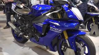8. 2017 Yamaha YZF R1 @ Motorcycle Live 2016