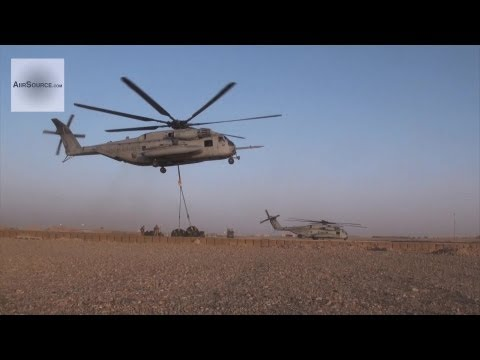 Footage of U.S. Marines with Landing...