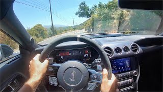 2020 Ford Mustang Shelby GT500 POV Street + Canyon Drive (3D Audio)(ASMR) by MilesPerHr