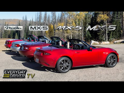 MX-5 Miatas Compared - Which is best? - TV Season 1 Ep. 2   Everyday Driver