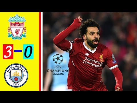 LIVERPOOL VS MANCHESTER CITY 3-0 (English Commentary) All Goals & Extended Highlight UCL Leg 1