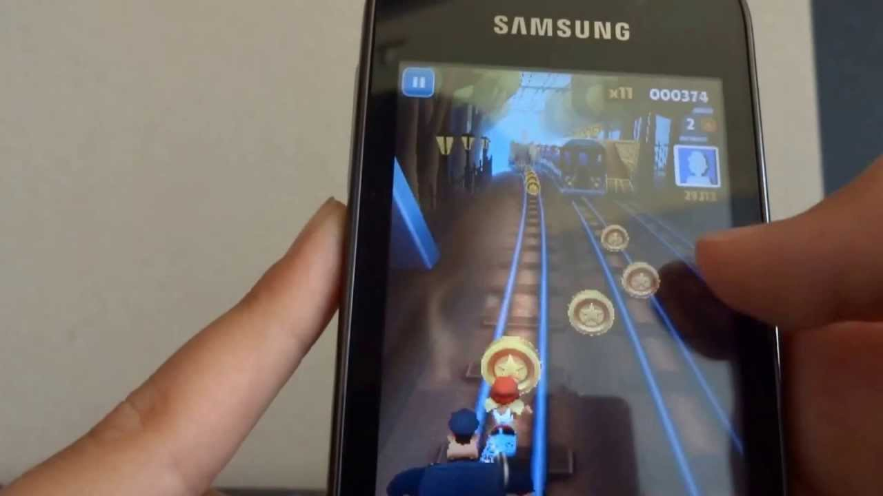 Descargar Subway Surfers gameplay and Download for Samsung Galaxy Y (HD) para Celular  #Android