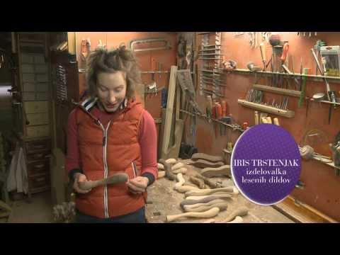 Mariborčanka izdeluje lesene dilde