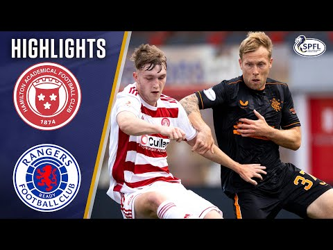 Hamilton 0-2 Rangers   Ianis Hagi & Tavernier Score to keep Gers on Top!   Scottish Premiership