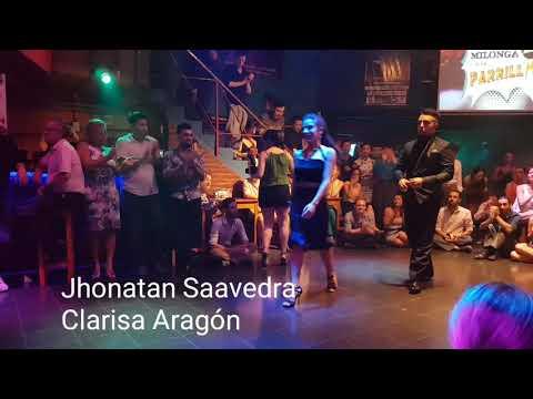 TANGO Show de campeones de tango pista en milonga A la Parrilla