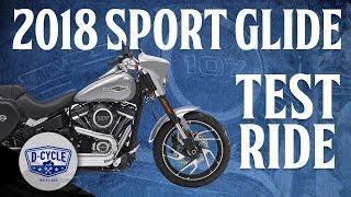 8. 2018 Harley-Davidson Sport Glide Test Ride