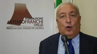 Premio di Laurea Artemio Franchi - Intervista Francesco Franchi