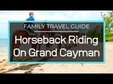 Cayman Islands, Grand Cayman, Horseback Riding, Stingray City, Snorkeling