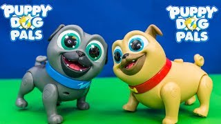 We love Puppy Dog Pals! Please subscribe here:  http://www.youtube.com/user/TheEngineeringFamily?sub_confirmation=1Check out our new channel: https://www.youtube.com/channel/UCPC55dCdzIjNJd421LbK3uwCheck out the new Puppy Dog Pals toys in this The Engineering Family YouTube video toy review! Mr. Engineer unboxes, showcases and reviews Rolly and Bingo! Watch as they go on funny missions!!! They walk and talk and have all sorts of fun! Check out some of these other fun TheEngineeringFamily Treasure HuntsDISNEY SURPRISE TREASURE Secret Surprise Treasure with the Assistant a Disney World Video Surprise   https://youtu.be/a3c5pAJ-o-kPJ MASKS Disney Search For PJ Masks with Blaze and Paw Patrol Video  Adventure   https://youtu.be/4mV2sNE14PgAssistant Slip N Slide Bounce House Carnival Challenge Surprise Toys Video  https://youtu.be/HKE2lCvb6fMASSISTANT TREASURE HUNT Paw Patrol Look Out Hunt + toysZootopia + Lion Guard Toys Surprise Video  https://youtu.be/ECgPK35Gw3wOr these Playlists!  Funny Kids Videos     https://www.youtube.com/playlist?list=PLoLQ9unpi4OHXhaMeWT2y6P27pbuzKbckFeaturing the Assistant   https://www.youtube.com/playlist?list=PLoLQ9unpi4OGfgjxJsWnO878aLXo2TgXHAbout The Engineering FamilyWe are The Engineering Family, a family of educators working to show you how to make learning fun and engaging through toy unboxings, toy reviews, and original series designed to insight imaginative play within your family. With Mr. Engineer as an experienced engineer with a love of exploring new things, Mrs. Engineer an award winning teacher with a math and counseling focus, and their daughter The Assistant you can think of The Engineering channel as your imagination station. You can think of The Engineering Family channel as a Funbrain meets YouTube. This family is taking some of the coolest toys like Paw Patrol, Shimmer and Shine, Scooby Doo, PJ Masks, Doc Mcstuffins, and plenty of fun Real Life live action videos that help teach children valuable STEM content. As always... TheEngineeringFamily only features 100% suitable family fun entertainment.
