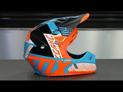 Fox Racing Youth V3 Divizion Helmet | Motorcycle Superstore