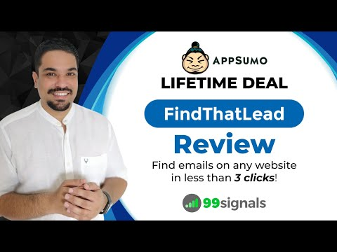 Watch 'FindThatLead Review: Find Emails on Any Website in Less Than 3 Clicks (AppSumo Lifetime Deal) - YouTube'