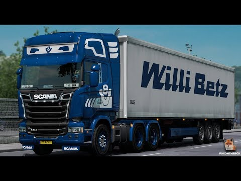 Scania King V8 Open Pipe Sound 1.28.x