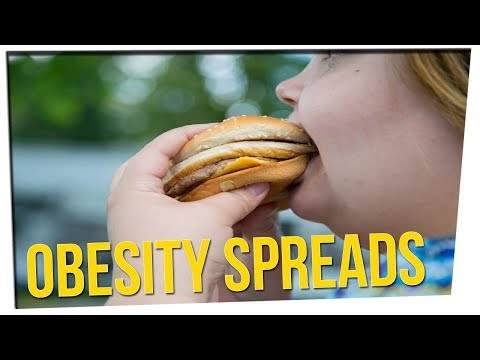 Study Suggests Obesity is Contagious!? ft. Gina Darling & DavidSoComedy