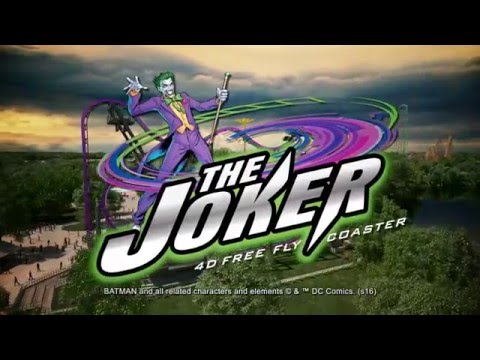 Six Flags Great Adventure Announces New 'Joker'-themed Roller Coaster