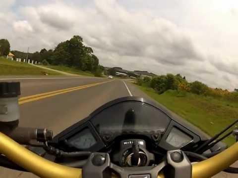 cb 1000 top speed 250km/h