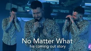Video Heartwarming applause makes Calum Scott emotional | No Matter What MP3, 3GP, MP4, WEBM, AVI, FLV Juli 2018