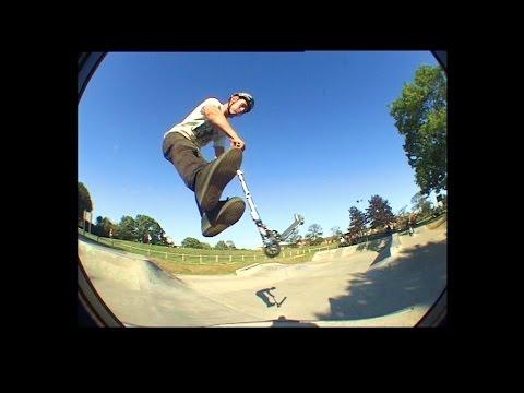 Sam Pilgrim - Micro Scooter At Leiston Skate Park - September 2007 1080p