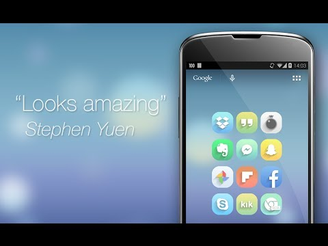 Video of Faint 2.0 - Icon Pack