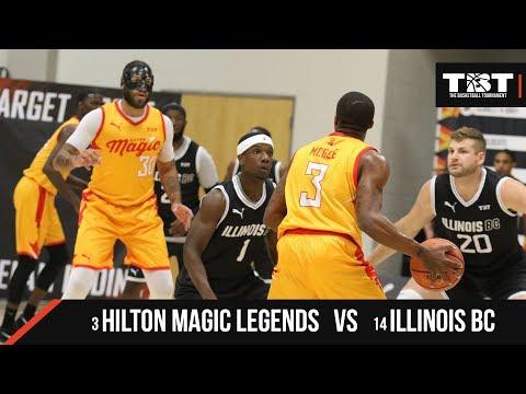 2018 TBT Midwest Region - #14 Illinois BC VS #3 Hilton Magic Legends